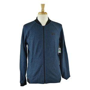 Under Armour Track Jackets LG Blue